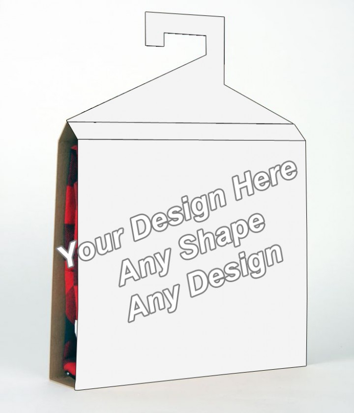 Cardboard - Shirt Packaging Box