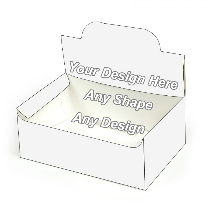 Cardboard - Auto Bottom Display Lid Boxes