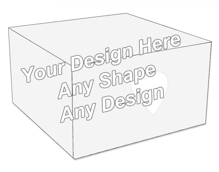 Die Cut - Cake Bakery Packaging Box