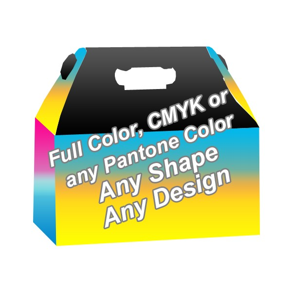 Full Color - Window Gable boxes