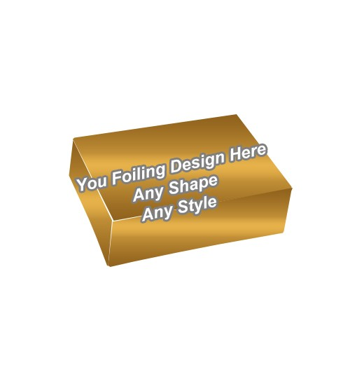 Golden Foiling - Four Corner Cake Boxes