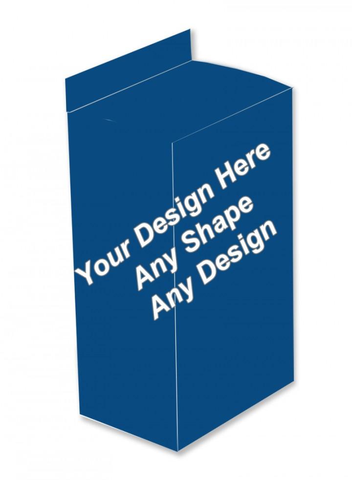 Matte Finish Boxes - Five Panel Hanger Boxes