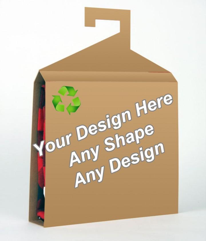 Recycled - Shirt Packaging Box