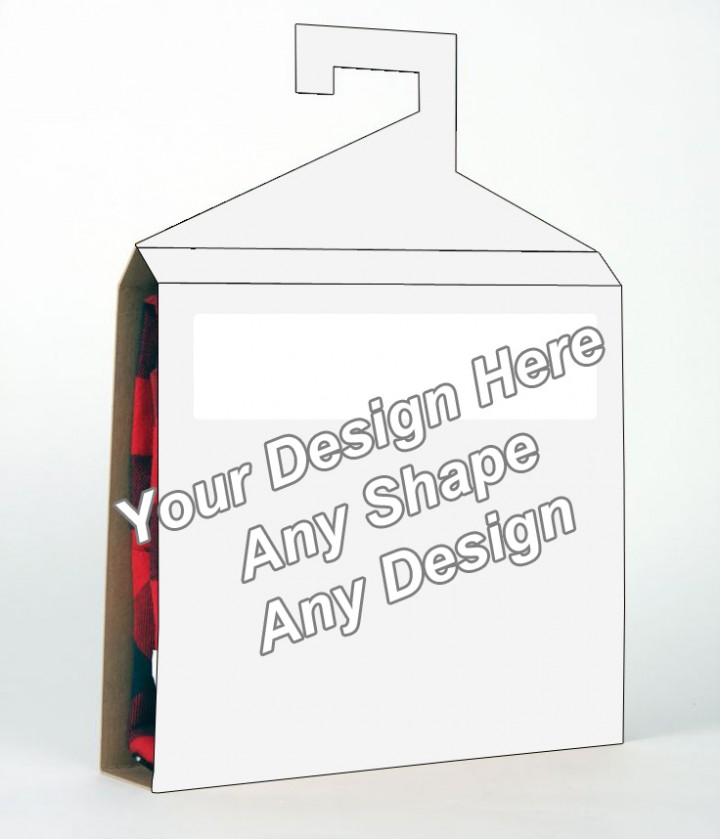 Window - Shirt Packaging Box