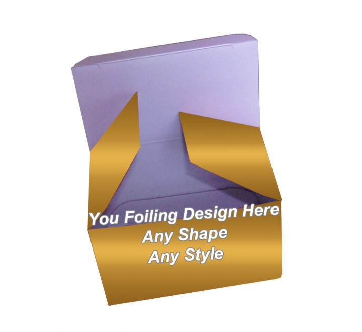 Golden Foiling - Folding Packaging boxes