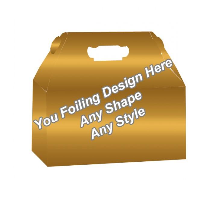 Golden Foiling - Custom Packaging Boxes