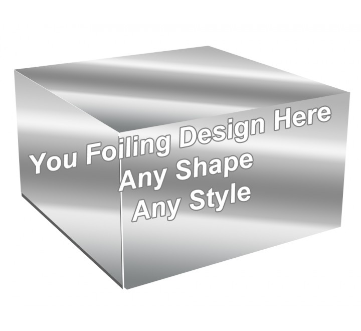 Silver Foiling - Cake Bakery Packaging Box