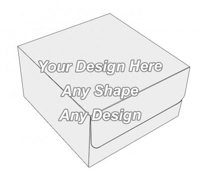 Cardboard - Tuck End Auto Bottom Cupcake Box