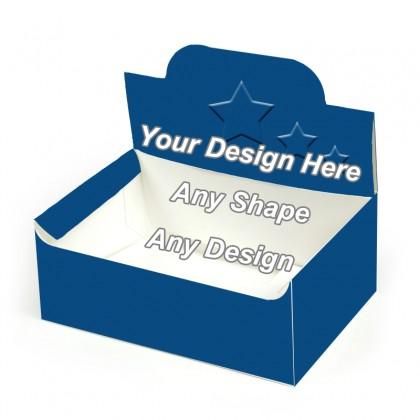 Embossed - Auto Bottom Display Lid Boxes