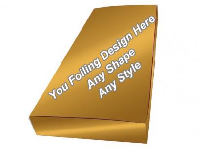 Golden Foiling - Foldable Hair Extension Boxes