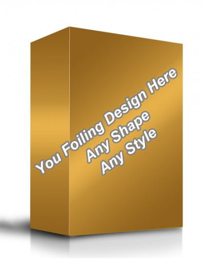 Golden Foiling - Software Packaging Boxes