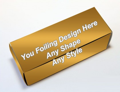 Golden Foiling - Golf Ball Boxes