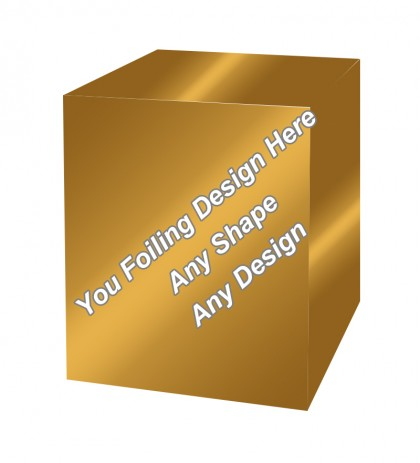 Golden Foiling - Masala Packaging Boxes