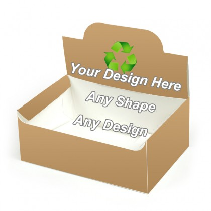 Recycled - Pop up Display Boxes