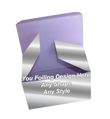 Silver Foiling - Reverse Tuck End Tea Boxes