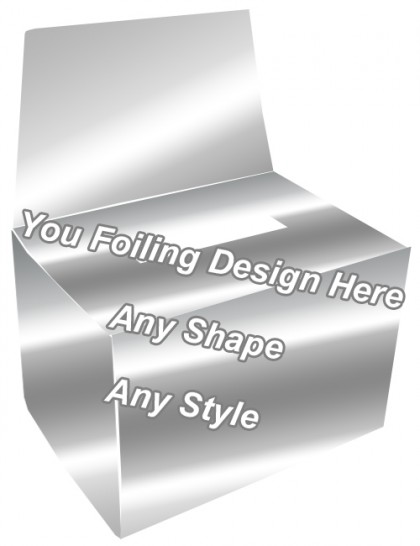 Silver Foiling - Bandage Packaging Boxe