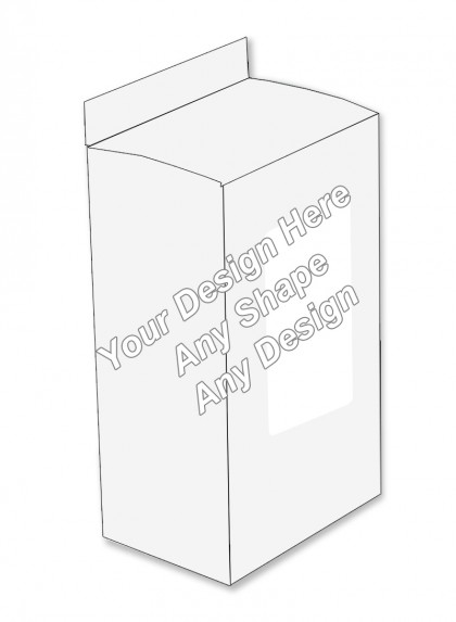 Window - Hair Serum Packaging Boxes