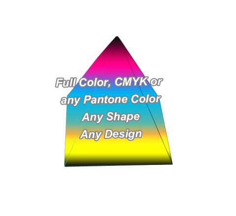 Full Color - Pyramid Shape Boxes