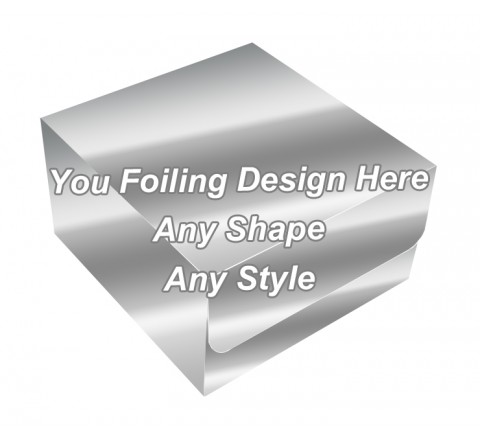 Silver Foiling - Tuck End Auto Bottom Cupcake Box